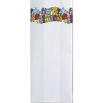 Groovy Birthday Cello Bags, 5 x 3 x 11 1/2