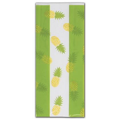 Party Like a Pineapple Cello Bags, 5 x 3 x 11 1/2""
