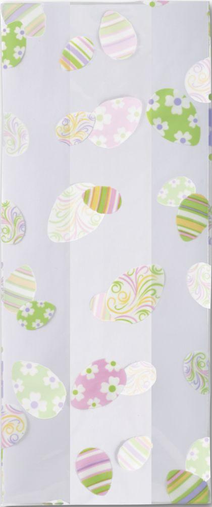 "Swirled Eggs Cello Bags, 5 x 3 x 11 1/2"""