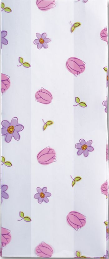 Simply Flowers Cello Bags, 5 x 3 x 11 1/2