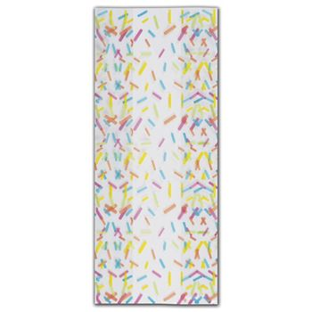 Candy Sprinkles Cello Bags, 5 x 3 x 11 1/2