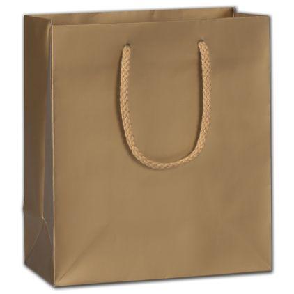 "Gold Dust Matte Euro-Totes, 8 x 4 x 9"""