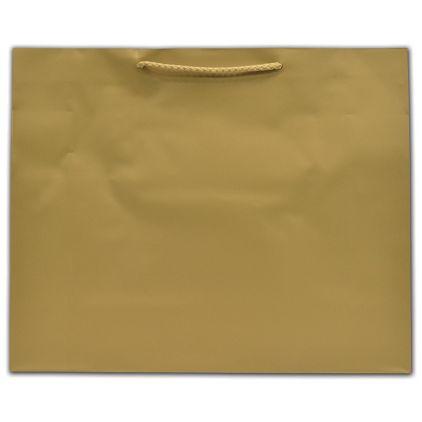 "Gold Dust Matte Euro-Totes, 16 x 4 3/4 x 13"""