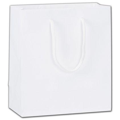 """Eco-Friendly White Euro-Totes, 8 x 4 x 9"""""""