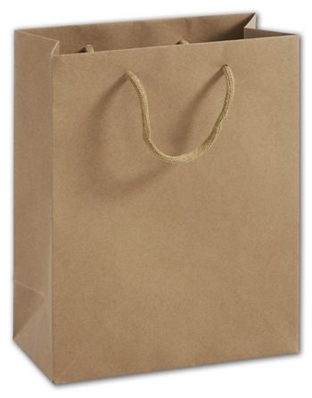 100% Recyclable Kraft Euro-Shoppers, 8 x 4 x 10