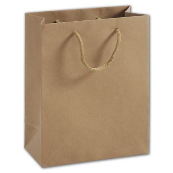 100% Recyclable Kraft Euro-Shoppers, 8 x 4 x 10""