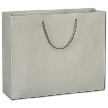 """Eco-Friendly Misty Grey Euro-Totes, 16 x 4 3/4 x 13"""""""