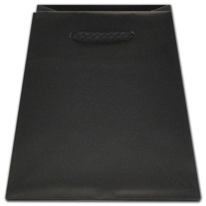 "Black Matte Inverted Trapezoid Euro-Totes, 4 1/2 x 4 x 6"""