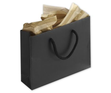 Black Matte Laminated Mini Euro-Totes