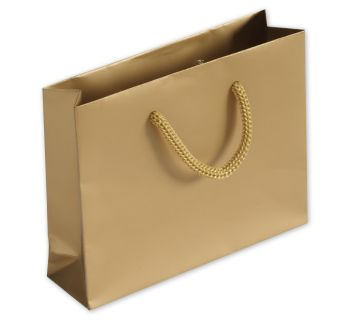 Gold Matte Laminated Mini Euro-Totes