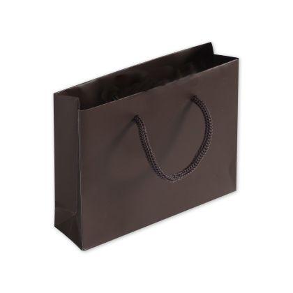 Chocolate Matte Laminated Mini Euro-Totes