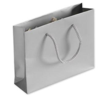Silver Matte Laminated Mini Euro-Totes