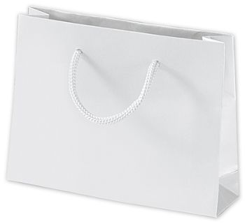 White Matte Laminated Mini Euro-Totes