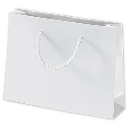 White Matte Laminated Mini Euro-Totes