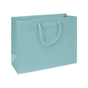 Premium Aqua Matte Euro-Shoppers, 13 x 5 x 10
