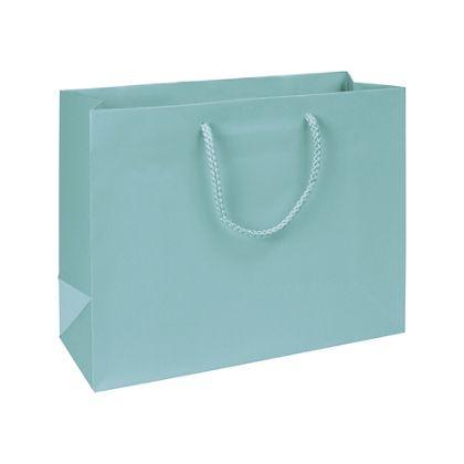 "Premium Aqua Matte Euro-Shoppers, 13 x 5 x 10"""