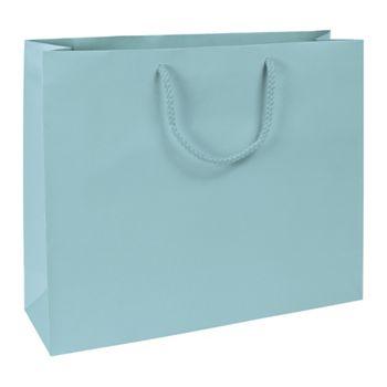 Premium Aqua Matte Euro-Shoppers, 16 x 4 3/4 x 13