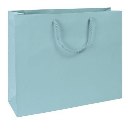 "Premium Aqua Matte Euro-Shoppers, 16 x 4 3/4 x 13"""