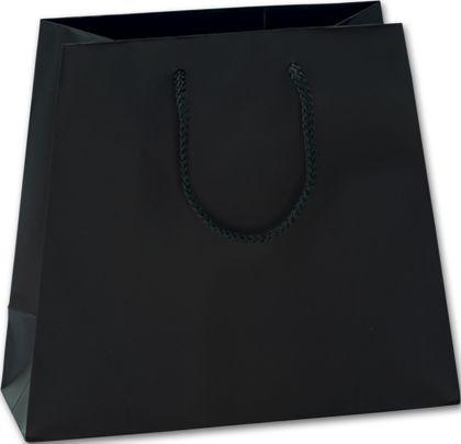 Black Matte Laminated Inverted Trapezoid Euro-Shoppers