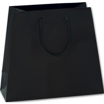 Black Matte Laminated Inverted Trapezoid Euro-Shoppers