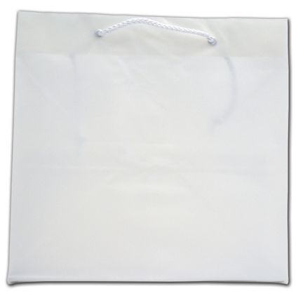 """Clear Frosted Euro-Totes, 11 x 9 x 11"""""""
