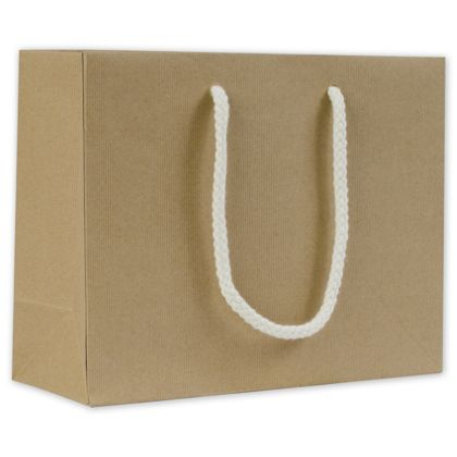 """Recycled Kraft Groove Euro-Shoppers, 9 x 3 1/2 x 7"""""""
