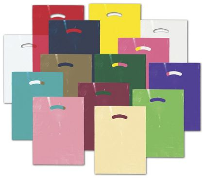 Die-Cut Handle Bags, Custom Printed 1 Color/1 Side