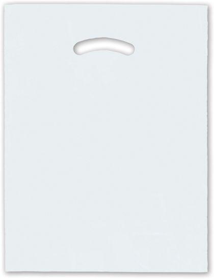 """Clear Die-Cut Handle Bag, 12 x 15"""""""