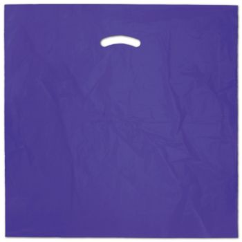 Purple Die-Cut Handle Bag, 20 x 20