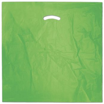 Citrus Green Die-Cut Handle Bag, 20 x 20