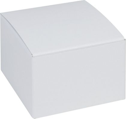 White One-Piece Gift Boxes, 3 x 3 x 2""
