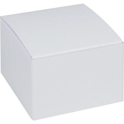 """White One-Piece Gift Boxes, 3 x 3 x 2"""""""