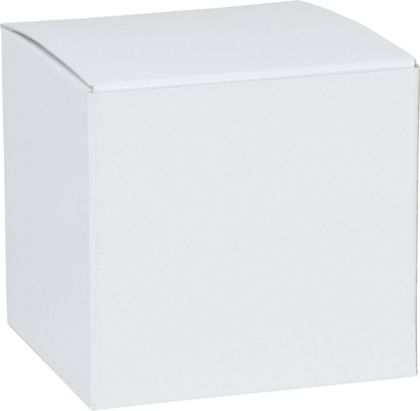 """White One-Piece Gift Boxes, 3 x 3 x 3"""""""