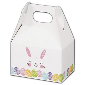 Happy Easter Bunny Gable Boxes, 4 x 2 12 x 2 1/2