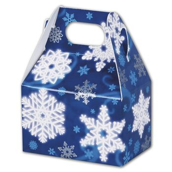 Winter Wonderland Gable Boxes, 4 x 2 1/2 x 2 1/2