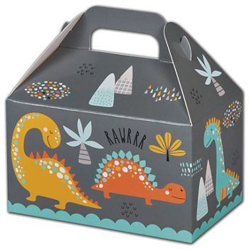 Dinosaurs Gable Boxes, 6 x 3 3/4 x 3 1/2