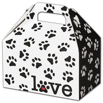 Puppy Love Gable Boxes, 6 x 3 3/4 x 3 1/2""
