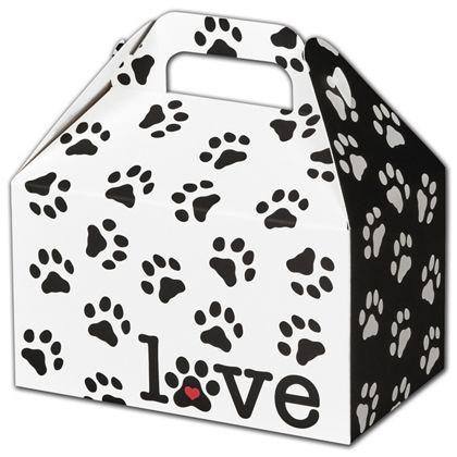 "Puppy Love Gable Boxes, 6 x 3 3/4 x 3 1/2"""