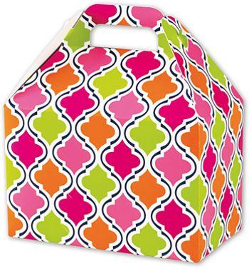 Modern Moroccan Gable Boxes, 8 1/2 x 5 x 5 1/2