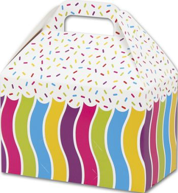 Candy Sprinkles Gable Boxes, 8 1/2 x 5 x 5 1/2
