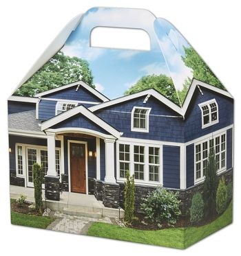 Craftsman Home Gable Boxes, 8 1/2 x 5 x 5 1/2