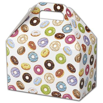 Lots of Donuts Gable Boxes, 8 1/2 x 5 x 5 1/2""