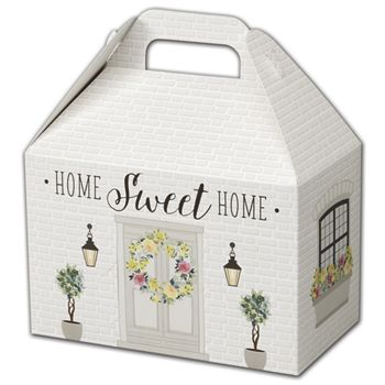 Rustic Cottage Gable Boxes, 8 1/2 x 5 x 5 1/2