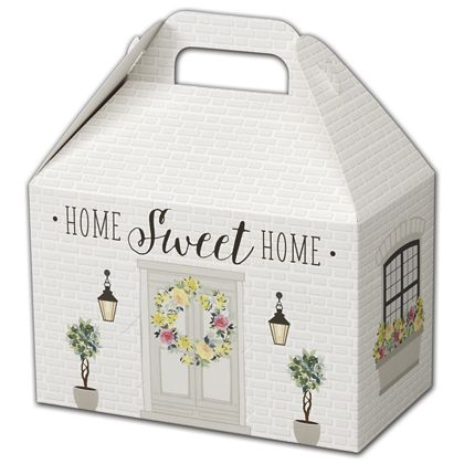 Rustic Cottage Gable Boxes, 8 1/2 x 5 x 5 1/2""