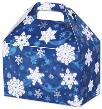 Winter Wonderland Gable Boxes, 8 1/2 x 5 x 5 1/2