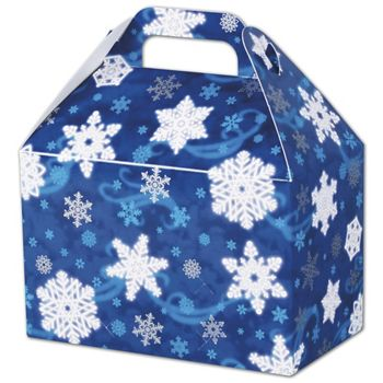 Winter Wonderland Gable Boxes, 8 1/2 x 5 x 5 1/2
