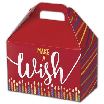 Make a Wish Candles Gable Boxes, 8 1/2 x 5 x 5 1/2