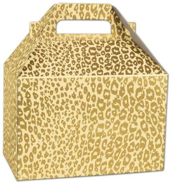Golden Cheetah Gable Boxes, 8 x 4 7/8 x 5 1/4