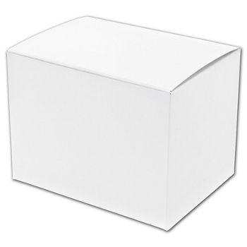 """White One-Piece Gift Boxes, 9 x 9 x 5 1/2"""""""