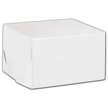 White Two-Piece Gift Boxes, 5 x 5 x 3